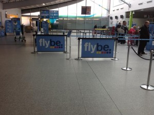 Q-Banner Airport Stanchion Ads