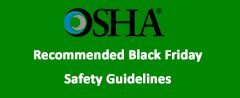 OSHA Guidelines for Black Friday Safety